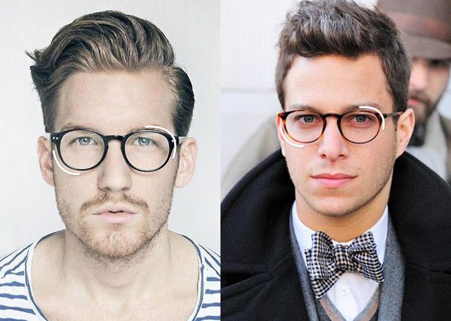 Visagismo  óculos de grau ideal para cada tipo de rosto   Leonardo ... f5a1a9a5bc