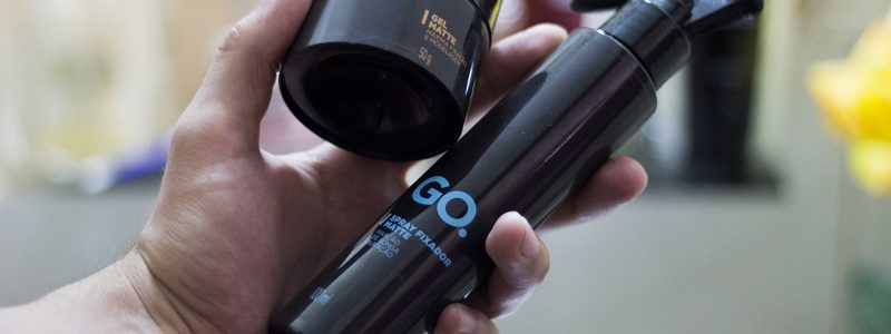 Gel Matte e Spray Fixador GO